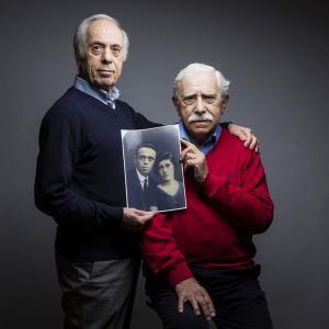 HENRI ET MAURICE AVEC LEURS PARENTS MORTS EN DÉPORTATION - AUSCHWITZ  / CERCIL